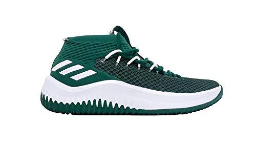 adidas SM Dame 4 NBA Shoe - Men's Basketball 15 Collegiate Green/White