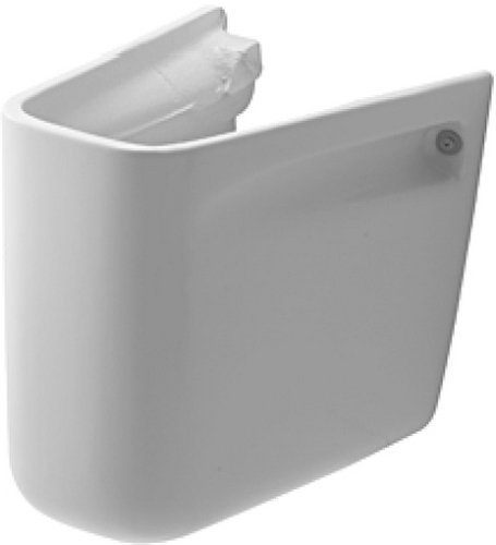Duravit 08571800002 D-Code Siphon Cover White by Duravit