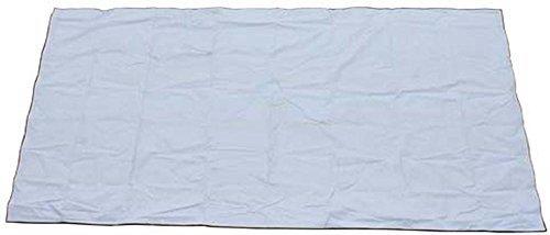 MFH Bâche de Protection avec Bordure renforcer Blanc (12,00 x 3,20m)