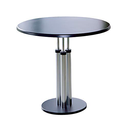 Table de cafétéria - plateau en Werzalit, Ø 800 mm - hauteur 750 mm