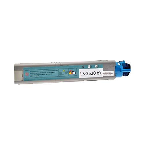 2 Toner kompatibel für Oki C 3520 MFP N MC 350 360-43459324 - Schwarz je 2500 Seiten