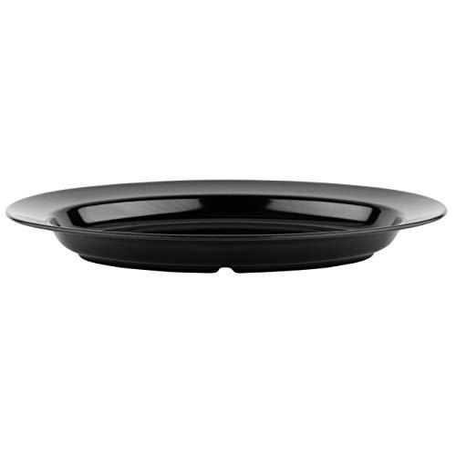GET Enterprises ML-15-BK 18 x 13 Oval Platter Black