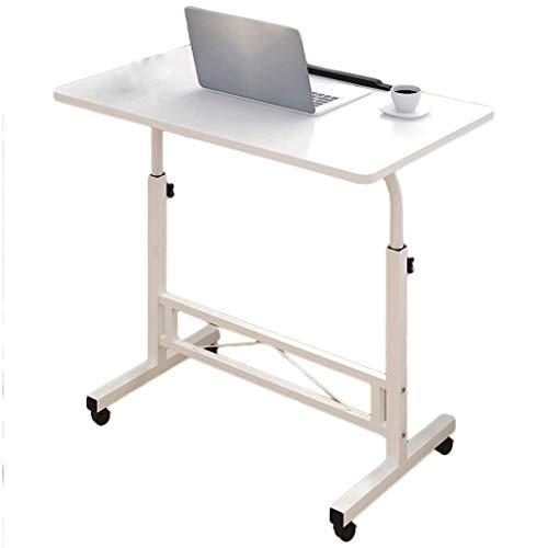Table D'ordinateur, Table Élévatrice Pour Ordinateur Portable, Table De Chevet Amovible, Plateau De Petit-déjeuner, Table Basse 80X40cm (Couleur : A2)