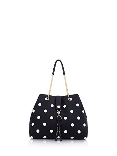 Le Pandorine Borsa shopping Dotty Bag ALLEGRIA Black