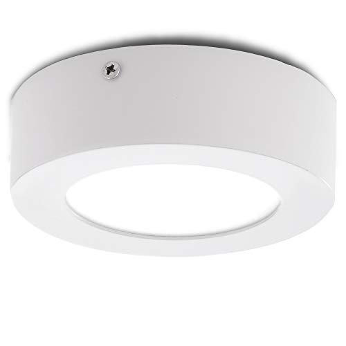 Greenice | Plafón LED Circular Superficie Ø120Mm 6W 470Lm 30.000H | Downlight...