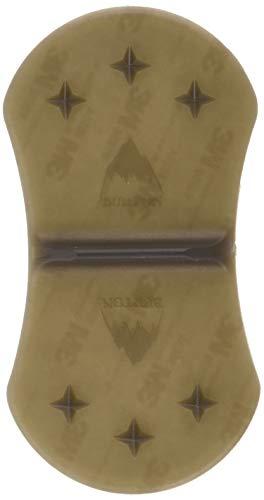 Burton Herren Antirutschmatte MED SPIKE MAT, Translucent Black, One size