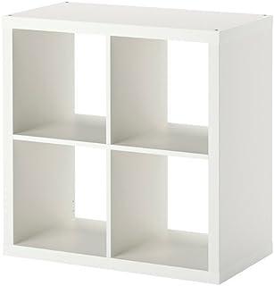 Kallax Estantería de IKEA Librería cestas o boxes-77X 77cm (Brillante) Color Blanco