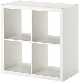 IKEA KALLAX シェルフユニット ホワイト 77×77cm 30275842