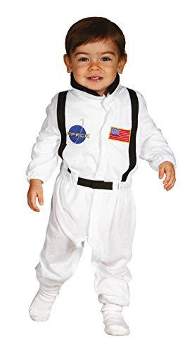 Guirca Astronauten Baby Kostüm - Größe 74-92 - Astronaut Pilot Fasching Karneval, Größe:74/80