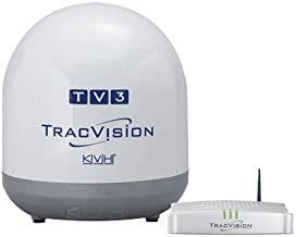 KVH TracVision TV3, MFG# -01-0368-07. Satellite TV system for use with N. American systems. 14.5