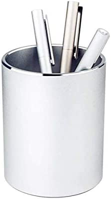 Metal Pencil Holders Pen Holder Round Aluminum Desktop Organizer and Cup Storage Box for Office product image