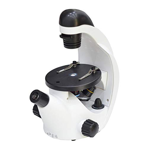 Inverses Mikroskop Triple-4X 10X 20X Coarse 40X-320X Für Bildungsschüler Mini Inversen Mikroskop