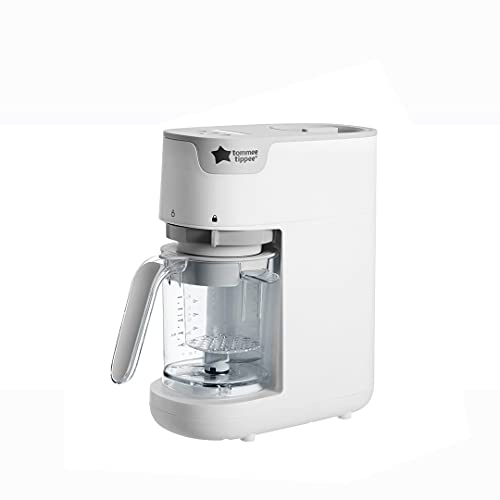 Tommee Tippee Quick Cook Baby Food Steamer and Blender, White