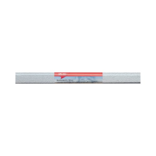 Herlitz 253179 Papier crépon, (B) 500 x (L) 1500 mm, argent