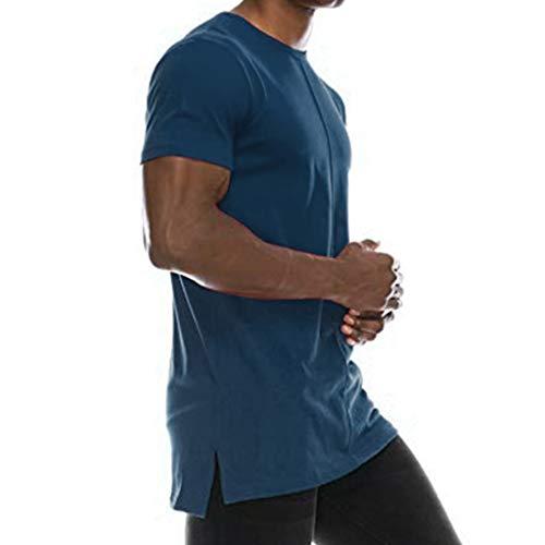 Longra T-shirt, heren, korte mouwen, hoge taille