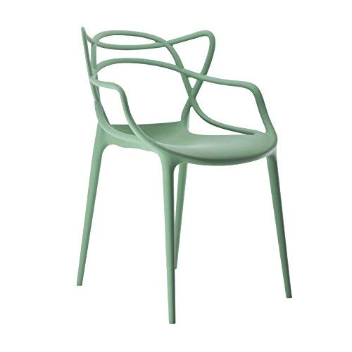 Kartell 586514 Masters Chaise Vert Sauge