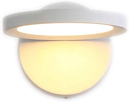 lámpara de pared Luz de pared Lámpara de pared Personalidad Lámpara de noche Dormitorio Investigación Lectura Lámpara de pared Pasaje Luz de pared decorativa [Energy Class A +] LED [clase energética A