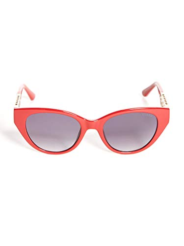 Guess gafas de sol GU7690 66B gafas de Mujer de color Rojo, lente de humo, el tamaño de 52 mm