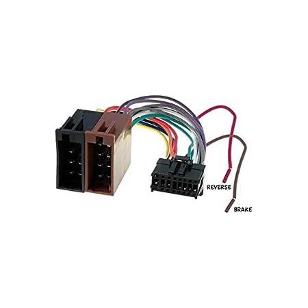 Cable Adapter Kabelbaum Iso Pioneer Avh 16 Pin Elektronik