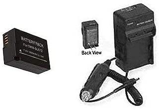 BP-DC12 BP-DC12E BP-DC12U Battery + Charger for Leica V-LUX4 & Q Typ116 Digital