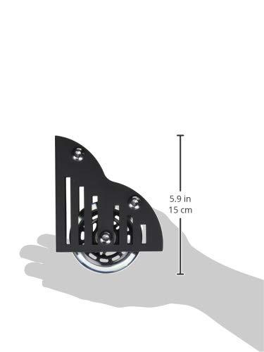 DIYHD Floor Roller Sliding Barn Library Ladder Set(2pcs)