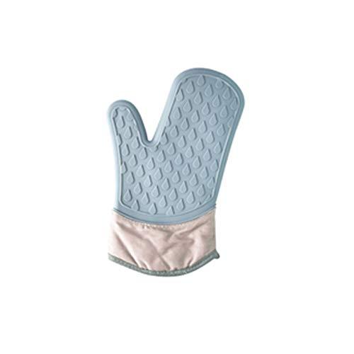 Gant anti chaleur Nordic épaississant des gants de four de silicone de silicone résistant à la chaleur mignon créativité Mode Simple Design Gants Horno for la cuisine Gants barbecue