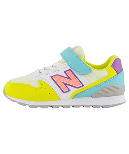 """New Balance Kinder Sneaker 996\"""" Weiss/gelb (906) 32EU"""