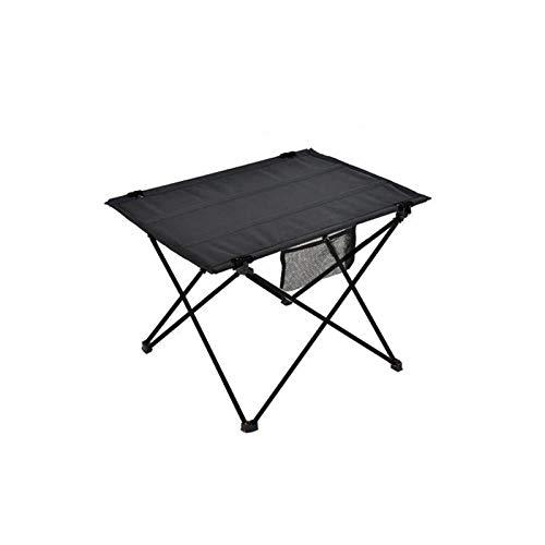 FastDirect Klapptisch Campingtisch Outdoor-Möbel tragbar Wandern faltbar Picknicktisch Aluminiumlegierung Ultraleicht Outdoor Klapptisch 75 x 55 x 52 cm Hellgrau