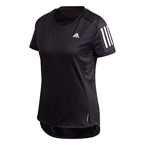 adidas Damen T-Shirt Own The Run, Black, M, FS9830
