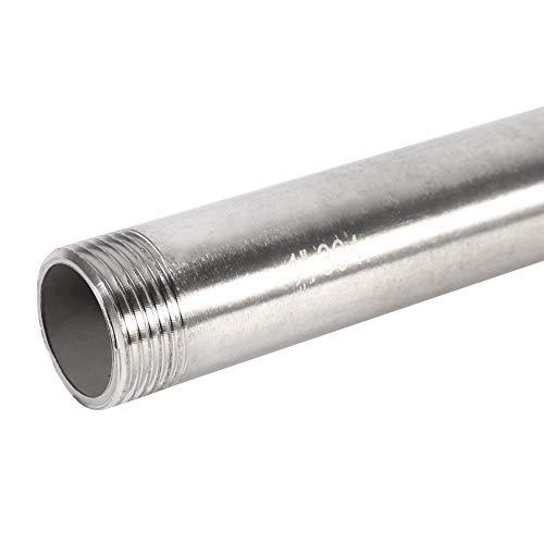Instalaciones de tuberías roscadas - extensión roscada Conectores de tubos de ajustar el adaptador de acero inoxidable (3/4')