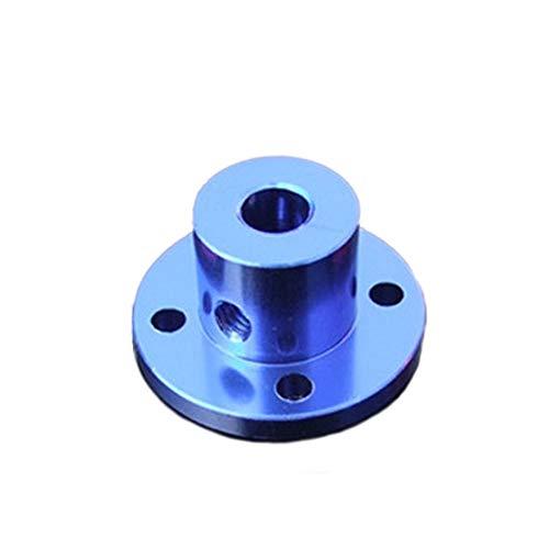 2 Stück Flanschkupplung Motorführung 3mm/4mm/5mm/6mm/8mm Wellenkupplung Motor Verbinder für DIY Teile