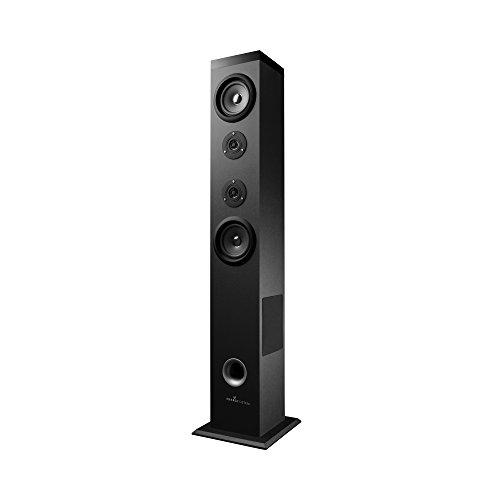 Energy Sistem Tower 5 - Sistema de Sonido Bluetooth (60 W, Touch Panel, USB/SD y FM) Color Negro