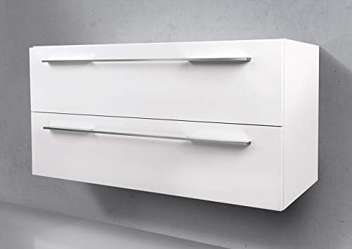 Intarbad ~ Waschtisch Unterschrank als Zubehör für MyStar 90 cm Waschbeckenunterschrank Gladstone Eiche Greige IB1644