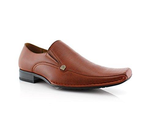 Delli Aldo King M19537 Mens Classic Formal Oxford Loafers