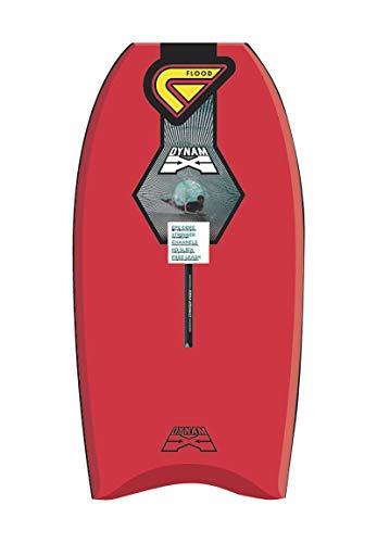 Flood Dynamx Stringer 40 - Bodyboard, Color Rojo