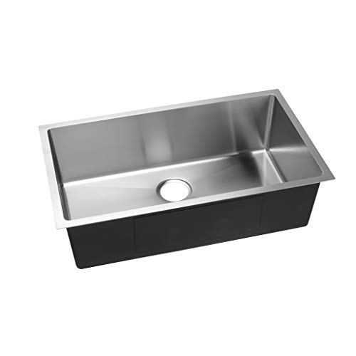 Hahn Evo EVO33S Hahn Kitchen Sink, Extra Large, Satin