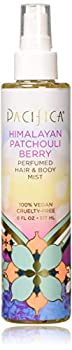 Pacifica Beauty Perfumed Hair & Body Mist Himalayan Patchouli Berry 6 Fl Oz  1 Count  B07992Q4YX
