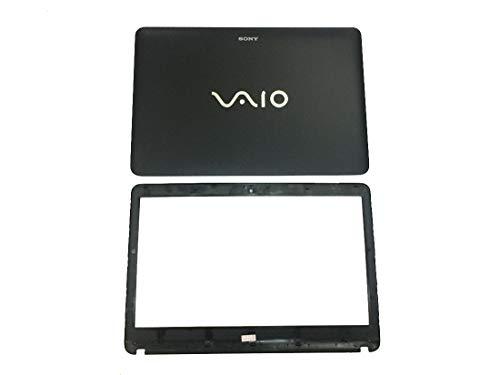 Ersatz für Sony VAIO SVF141 SVF142 SVF143 SVF1421 SVF14E Laptop LCD Top Back Cover Front Rear Cover mit Blende-Rahmen Non-Touch-Version