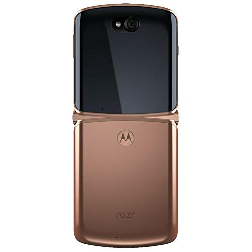 Motorola Razr 5G Dual-SIM XT2071-4 256GB Factory Unlocked SIMFree Smartphone (Blush Gold) - International Version