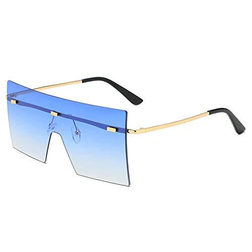 Gafas De Sol Polarizadas Gafas De Sol Grandes De Gran Tamaño De Moda Unisex para Mujer Diseño Famoso Gafas De Sol De Una Pieza De Moda Gafas De Sol para Hombres Y Mujeres Gafa