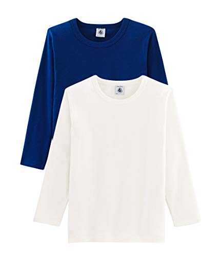Petit Bateau Tee Shirt ML_5005300 Maillot De Corps, Multicolore (Variante 1 00),...