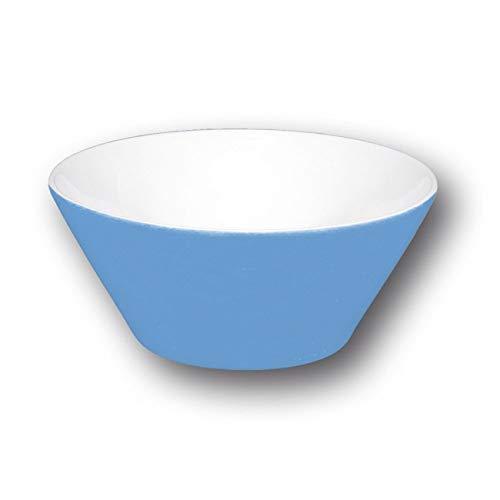 Bol conique bleu - D 13 cm - Napoli