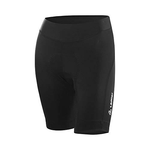 LÖFFLER Damen Bike Short Tights Hotbond® Fahrradhose schwarz 38