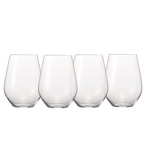 Spiegelau & Nachtmann, 4-teiliges Universalbecher-Set XXL, Kristallglas, Authentis Casual, 4800277