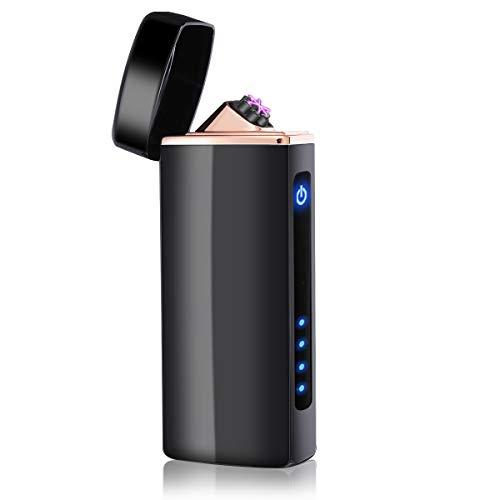NASUM Briquet Électrique Briquet USB Rechargeable avec Point