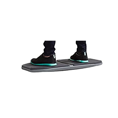Gaiam 05-62410 Evolve Balance Board for Standing Desk - Stability Rocker Wobble Board for Constant Movement to Increase Focus, Alternative to Standing Desk Anti-Fatigue Mat