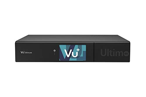 VU+ Ultimo 4K 1x DVB-C FBC / 1x DVB-T2 Dual Tuner 500 GB HDD Linux Receiver UHD 2160p