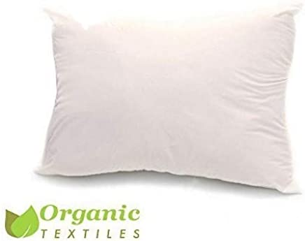ea23ce5c17 100% Organic Cotton Covered Wool Filled Pillow Standard Classic Size