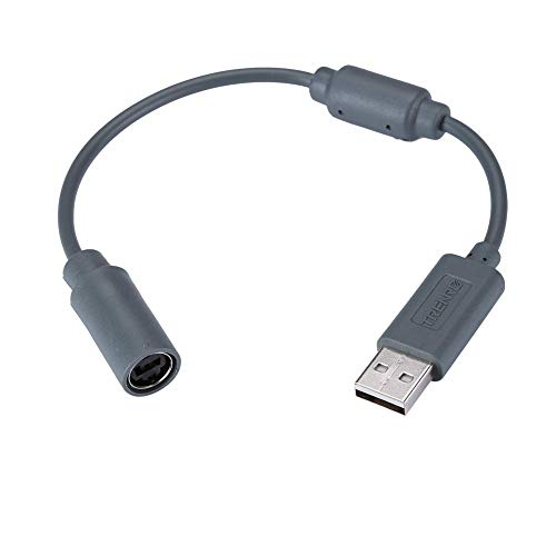 Wired Controller USB Breakaway Cable for Microsoft Xbox 360, Dongle Adapter Extension Cord for Xbox 360