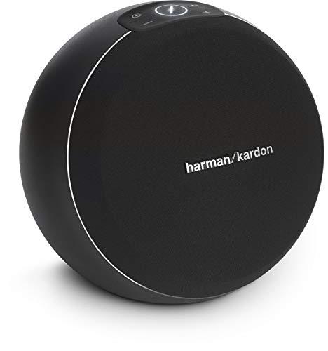Harman/Kardon Omni 10+ Kabelloser HD-Lautsprecher mit Spotify Connect, Google Cast, Bluetooth und Firecast - Schwarz